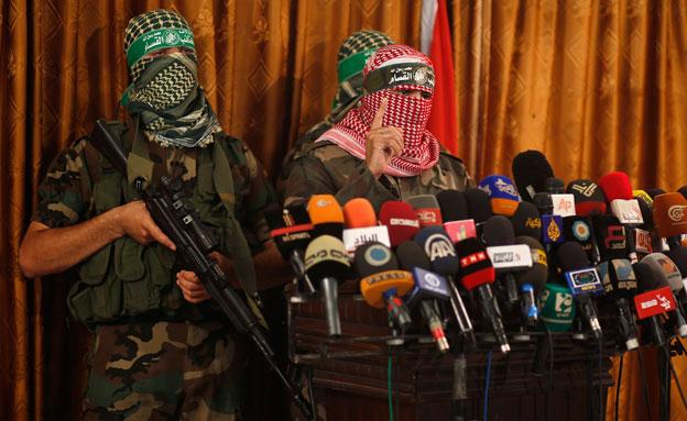 אבו עוביידה, דובר הזרוע הצבאית של חמאס (צילום: רויטרס)