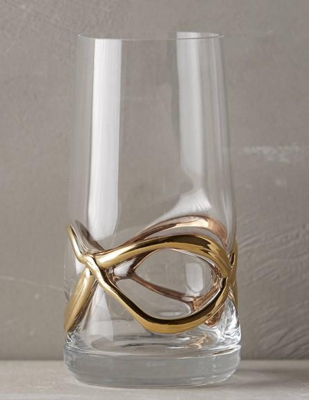 פסטל03, כלי זכוכית עם עיטור מוזהב (צילום: אנתרופולוג'י)