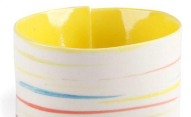 צבע04, קערת פסים (צילום: fab.com)