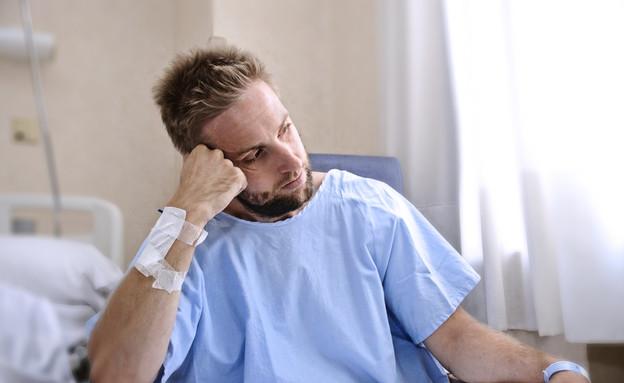 חולה (צילום: Marcos Mesa Sam Wordley, Shutterstock)