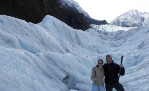 הקרחונים הפכו למסוכנים מדי (צילום: רויטרס)