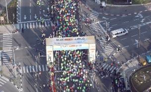 מרתון ירושלים: מפת החסימות המלאה (צילום: דוברות עיריית ירושלים)