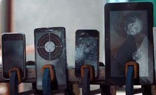 סמארטפונים במטווח (צילום: Wired)