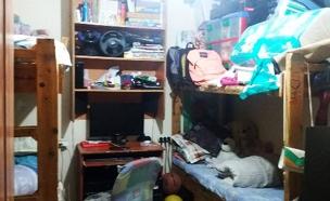 3 ילדים בחדר אחד צפוף