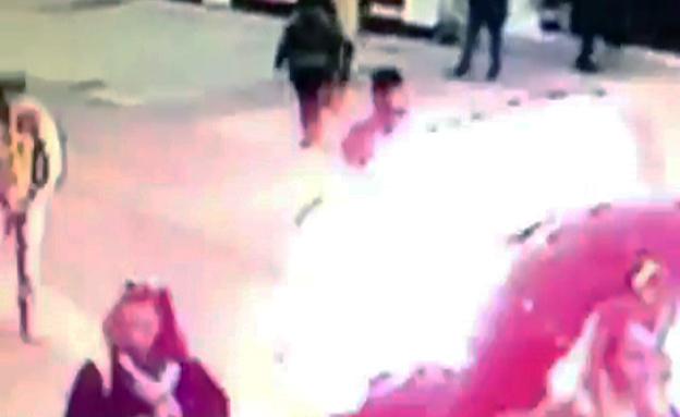 רגע הפיצוץ באיסטנבול