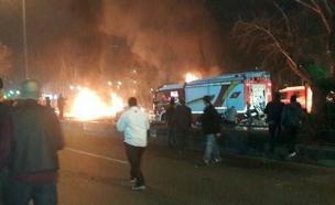 הפיגוע באנקרה, בשבוע שעבר (צילום: טוויטר)