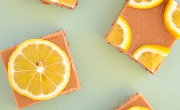 עוגת לימון וקרמל (צילום: שקמה יעקבי, אוכל טוב)