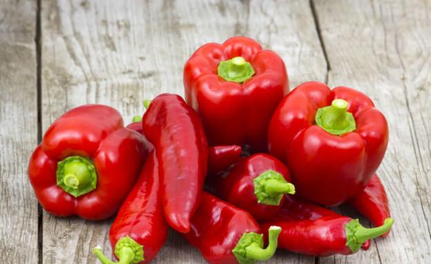 פלפל אדום (צילום: Drozdowski, Shutterstock)