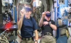 משחקים בתחנת החלל, צפו (צילום: SKY)
