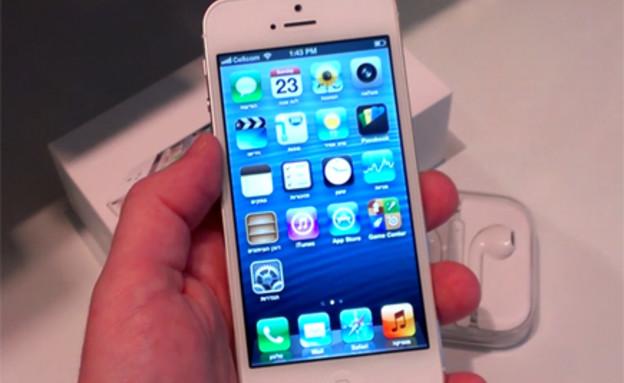 אייפון 5 - סקירה ראשונה (תמונת AVI: mako)