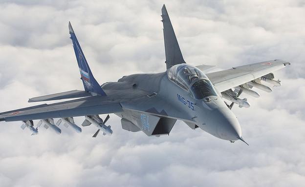 המטוס הרוסי החדש (צילום: Flickr/mashleymorgan)