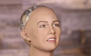 סופיה הרובוטית (צילום: יוטיוב)