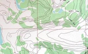מפה מתעתעת (צילום: imgur)