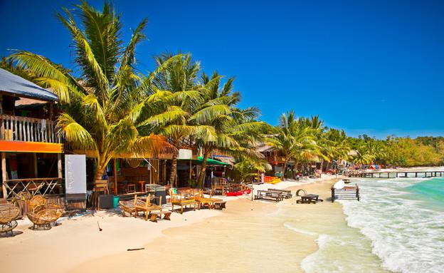חוף באי קו רונג, קמבודיה (צילום: Aleksandar Todorovic, Shutterstock)