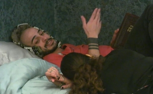 ברק ואור קוראים את מגילת אסתר (צילום: מתוך האח הגדול עונה 7, שידורי קשת)