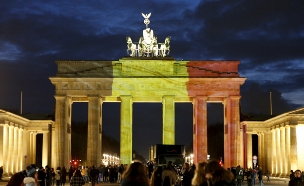 ברלין, הערב (צילום: רויטרס)