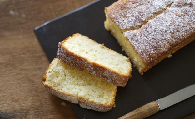 עוגת לימון ויוגורט (צילום: קרן אגם, אוכל טוב)