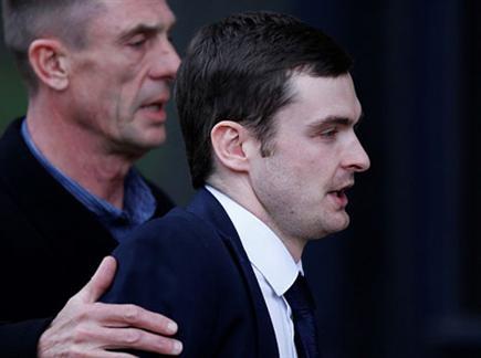 הקריירה הגיעה לסיומה. ג'ונסון בכניסה לבית משפט (gettyimages) (צילום: ספורט 5)