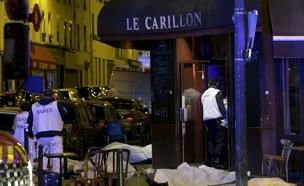 אחת מזירות הטבח בפריז בחודש נובמבר (צילום: רויטרס)