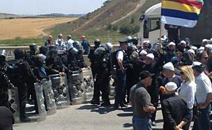 """""""ישראל גורמת לדרוזים בגולן סבל"""" (צילום: שי שפירא)"""