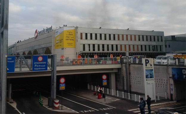 מתקפת הטרור בבריסל, השבוע (צילום: טוויטר)