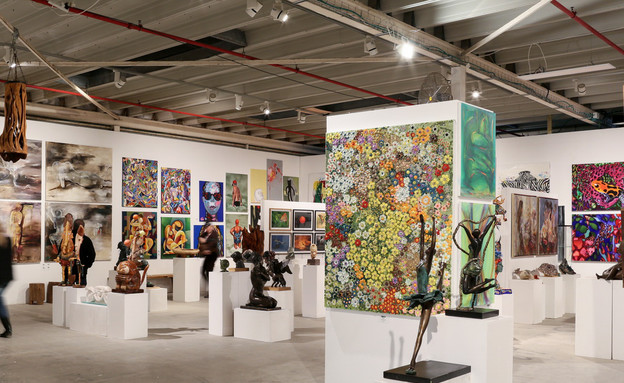 אמנות ישראלית בגובה העיניים (צילום: רווית תורכיה)