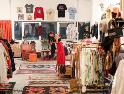 חנות וינטג' ויד שנייה הפועלת במתחם הגלריה