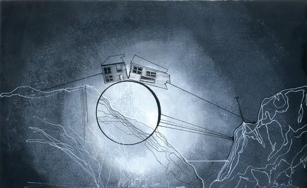 יצירה של עדי ארגוב (צילום: באדיבות גלריית המשולש)