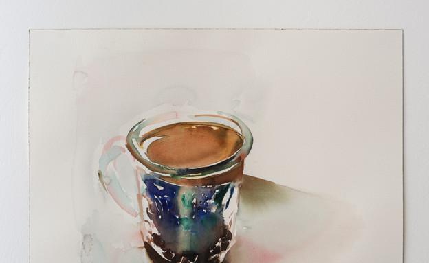 יצירה של מרגו גראן (צילום: באדיבות גלריית המשולש)