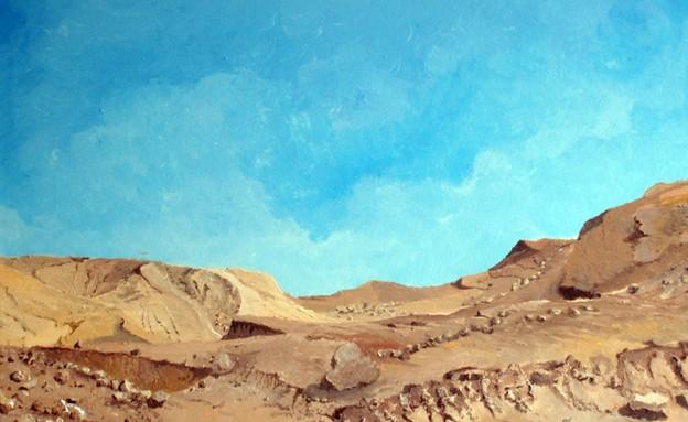 יצירה של אסף שני (צילום: באדיבות גלריית פחות מאלף)