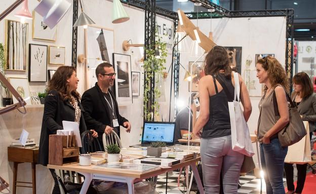 1מ135 01, צילום מתוך תצוגת הגלריה בשבוע העיצוב הישראלי (צילום: תמי בר שי)