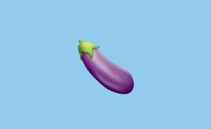 אימוג'י חציל (צילום: Emojipedia)