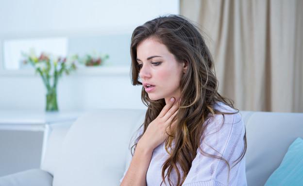 קוצר נשימה (צילום: wavebreakmedia, Shutterstock)