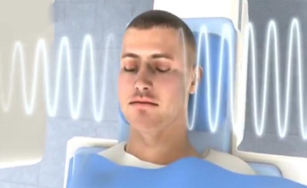 צינתור מוח (צילום: חדשות 2)