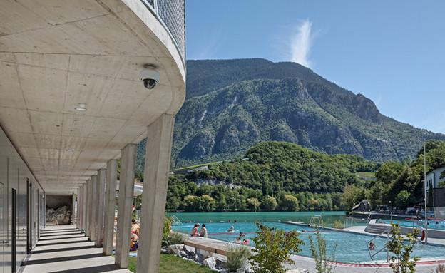 שוויץ על אגם אדם ז'ירונד (צילום: rogerfrei)