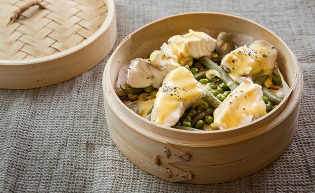דג מאודה עם ירקות (צילום: דרור עינב, אוכל טוב)