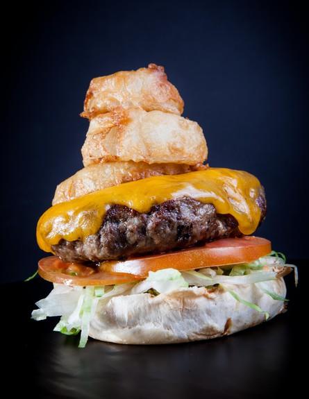 גורדוס המבורגר גבינה (צילום: ליאור גולסאד,  יחסי ציבור )