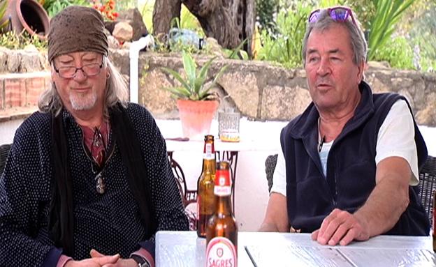 הלהקה האגדית בראיון נוסטלגי במיוחד (צילום: חדשות 2)