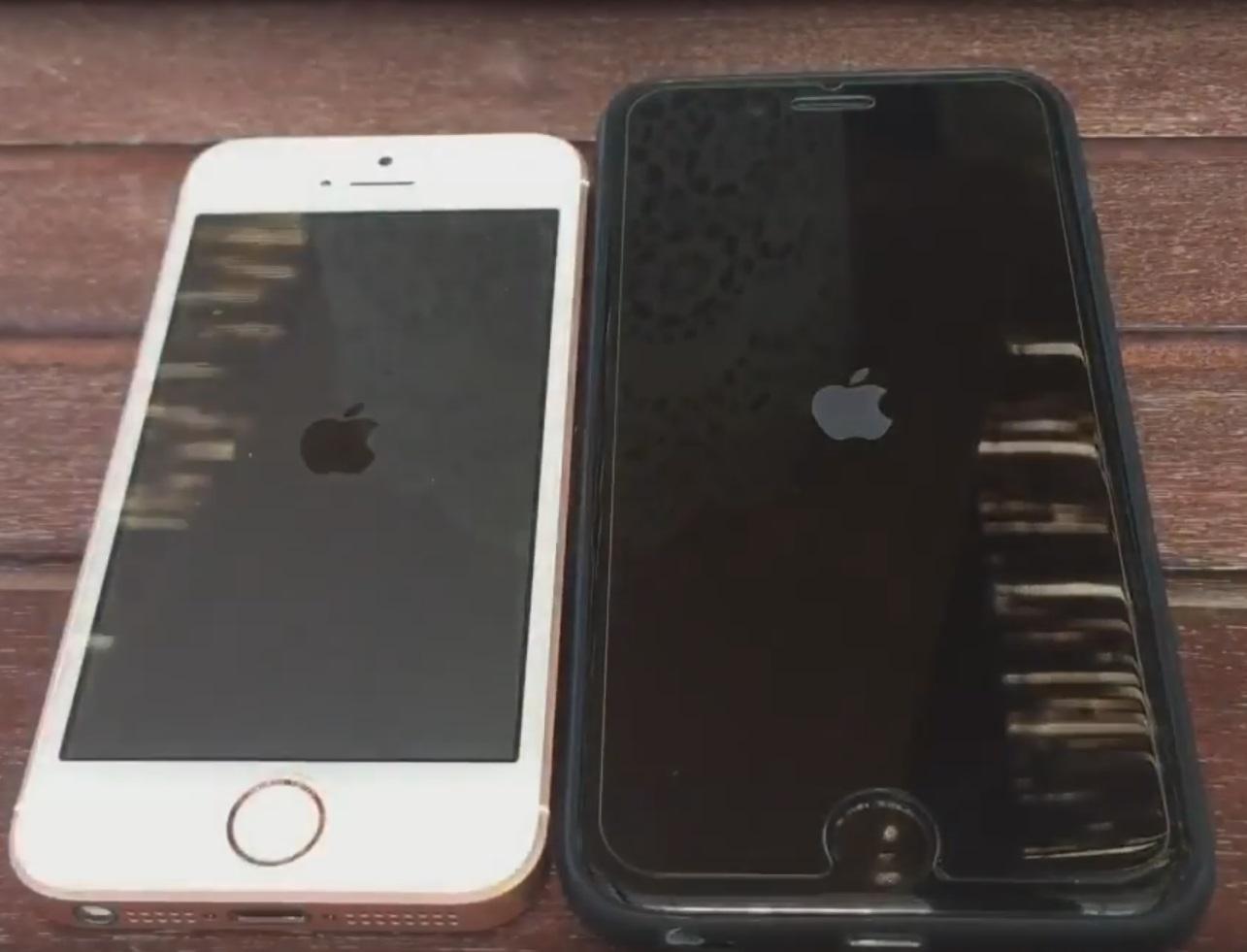 מודיעין אייפון SE: קטן יותר ועדיין חזק VU-07