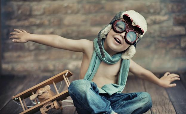 ילד שמח (צילום: Shutterstock)