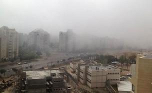 הערפל הביא לסגירת שדה דב (צילום: שחר יוסף)