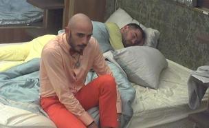 ברק ועמרי בחדר השינה  (צילום: מתוך האח הגדול 7, שידורי קשת)
