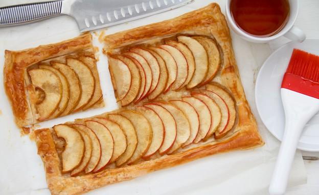 טארט תפוחים מהיר מוכן (צילום: עידית נרקיס כ
