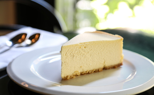 קופי בר. עוגת גבינה.  (צילום: עידית בן עוליאל)