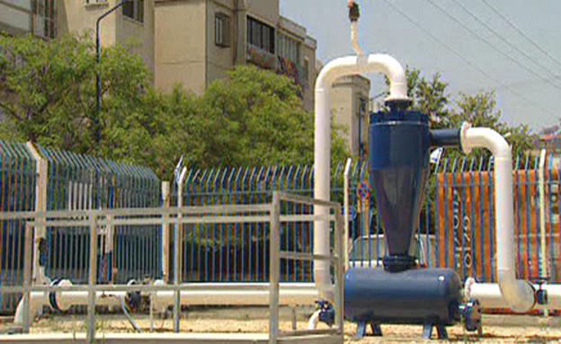 התפלת מים (צילום: חדשות 2)