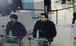 המחבלים בשדה התעופה בבריסל. ארכיון