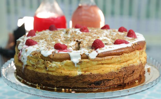עוגת גבינה ושוקולד (צילום: דניאל בראון, בייק אוף ישראל)