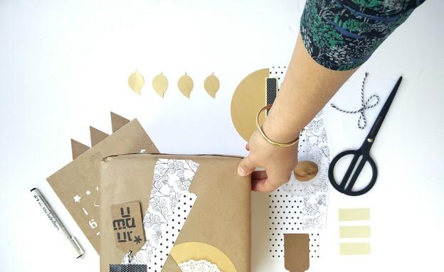 02 ערכות לעטיפות מתנה של Soul and Paper, מחיר-100 שקל,  (צילום: רחל נתנאלי)