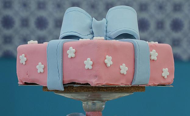 עוגת יום הולדת - שוקולד מרשמלו (צילום: דניאל בר און, בייק אוף ישראל)