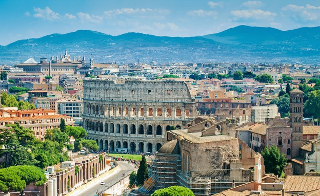 רומא, איטליה (צילום: Mariia Golovianko, Shutterstock)